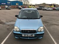 HYUNDAI AMICA 1.0 SI 5 DOORS LOW MILEAGE 57K LONG MOT GREAT CONDITION ONLY 1 PREVIOUS OWNER