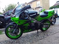 KAWASAKI ZX6R F3 1997 FOR SALE.CAT C. mot until Aug 2017.Would be ideal 1st track bike. good spec
