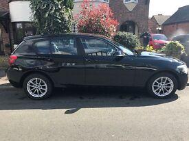 BMW 1 Series 114i SE Sport 1.6 manual 5 door LOW MILEAGE Stop/Start Parking sensors