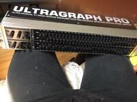 Behringer ultragraph pro 3102 graphic equaliser