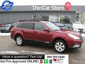 2011 Subaru Outback AWD TOURING - SUNROOF, HTD SEAT, BLUETOOTH