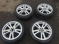 "Subaru Impreza 17"" alloys alloy wheels"