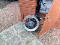 19inch BBS wheels. Still in box. Really stylish £375 bargain set of new spacers also Tel 07872490760