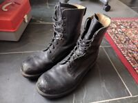 British Army Combat Boots, Size 11