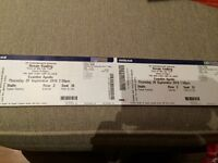 Urgent 2 X Ronan Keating tickets Thursday 29 September Hammersmith Apollo