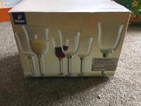 6 wine glasses (tchibo)