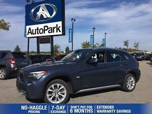 2012 BMW X1 xDrive | Heated Leather | Panoramic Sunroof | Blue