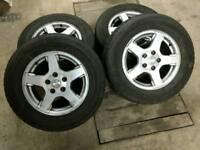 Jeep X4 alloy wheels & tyres