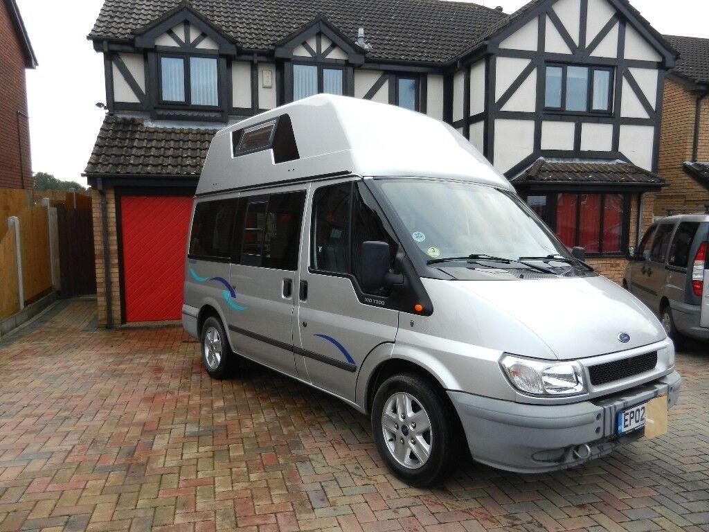 now sold 2002 westfalia nugget ford transit diesel factory built 4 birth hi top camper van. Black Bedroom Furniture Sets. Home Design Ideas
