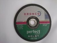 25 x Dronco 1185015 180 x 3 x 22.2 mm Flat Stone Cutting Discs (Pack of 25)