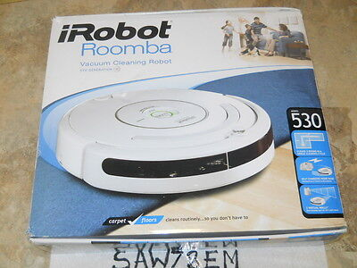 iRobot Roomba 530 SERIES Robotic Cleaner with Accessories(BRAND NEW BATTERY)