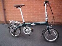 Bickerton Pilot 1406 folding bike.