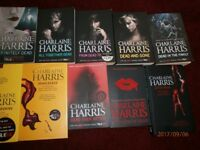 Set OF 15 Sookie Stackhouse True Blood Vampire Novel Books Charlene Harris