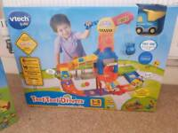 Never played with Toot Toot Construction Site and Deluxe Track set.