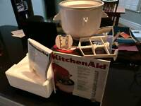 Kitchen Aid ice-cream maker