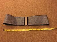 Silver sparkly belt