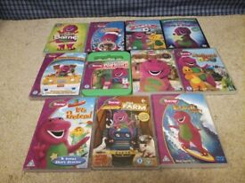 Barney dvd collection