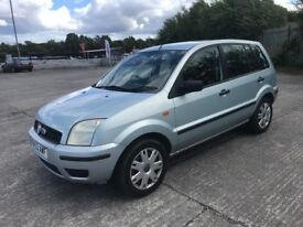 \\\\ 04 FORD FUSION 1.4 5 DOOR ,, PART EXCHANGE TO CLEAR ONLY £599 \\\\