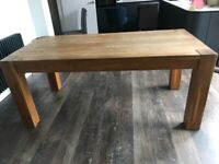 Barker and Stonehouse Solid Oak Dining Table