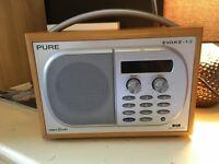 Pure Evoke 1s DAB radio