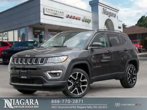 2018 Jeep Compass LIMITED   BLACK ROOF