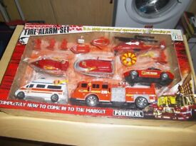 2 BRAND NEW FIRE ALARM PLAY SETS £10 EACH