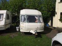 2 berth avondale touring caravan
