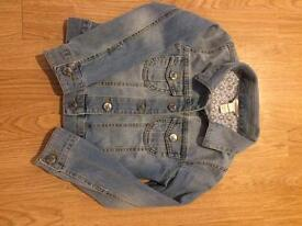 Monsoon kids Denim jacket 5-6