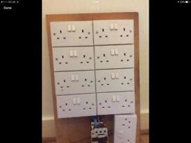 9 x wall plug sockets - going very cheap