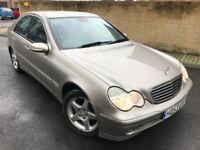Mercedes-Benz C Class 2.1 C220 CDI *AUTOMATIC* Avantgarde,3 OWNERS,FULL SERVICE,SAT NAV,NEW MOT
