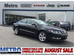 2013 Volkswagen CC Sportline-fully loaded