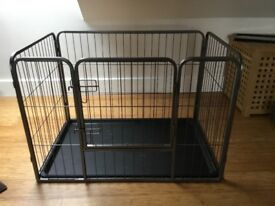 Dog cage/whelping pen