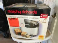 Morphy Richards bread maker new and unused