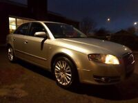 2007 07 AUDI A4 SE 2.0 TDI 140 BHP, HPI CLEAR, AUTOMATIC, PART EXCHANGE CLEARANCE, PRICED TO SELL