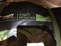 5 man urban escape tent