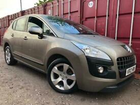 image for Peugeot 3008 2012 1.6 Diesel Automatic Long Mot Cheap To Run And Insure £30 Road Tax !