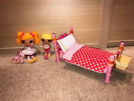 Lalaloopsy dolls, Pets and Bed