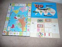 Vintage 1961 Waddington's Go Board Game