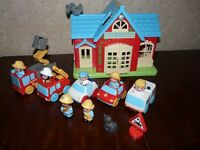 ELC Happyland Set with sounds and figures