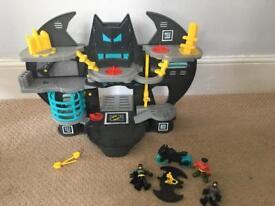 Imaginext Batcave.