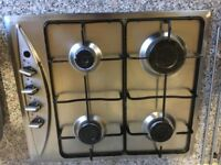 Baumatic stainless steel gas hob