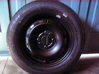 """Ford Fiesta 14""""; steel wheel with New 175/65 x 14 82T Bridgestone B391 tyre"""