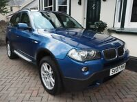 BMW X3 SE 2.0 Turbo Diesel – 6 Speed – 2007 – Full Service History - 12 Months MOT (no advisories)