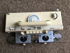 Brother 950 Knitting machine main carriage & Lace carriage x2