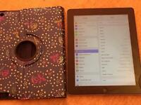 iPad 3 Wifi And Cellular 64GB genuine iPad with case