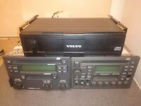 Volvo cd player double din with 6 cd changer for sale