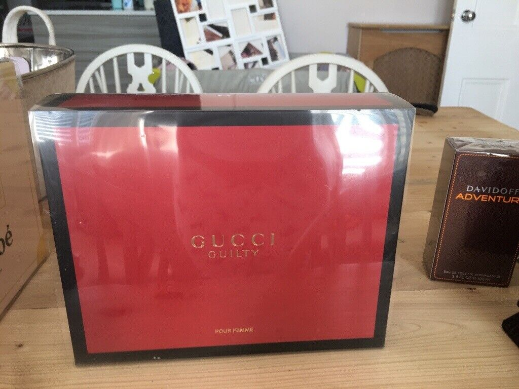c6fffd312a6 Ladies Gucci guilty gift set