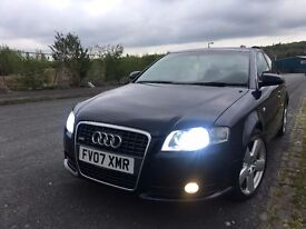 AUDI A4 S/LINE 2.0TDI Multitronic AUTO,2007 FULL HISTORY,VERY NICE CONDITION,DRIVE FAULTLESS.