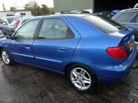 citroen xsara parts from 2 cars 2,0 automatic hdi blue and 1,4 petrol silver