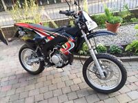 RIEJU SMX125 SUPERMOTO PRE-REG 2005 NEVER USED NO MILES FINANCE AVAILABLE YAMAHA ENGINE £1899